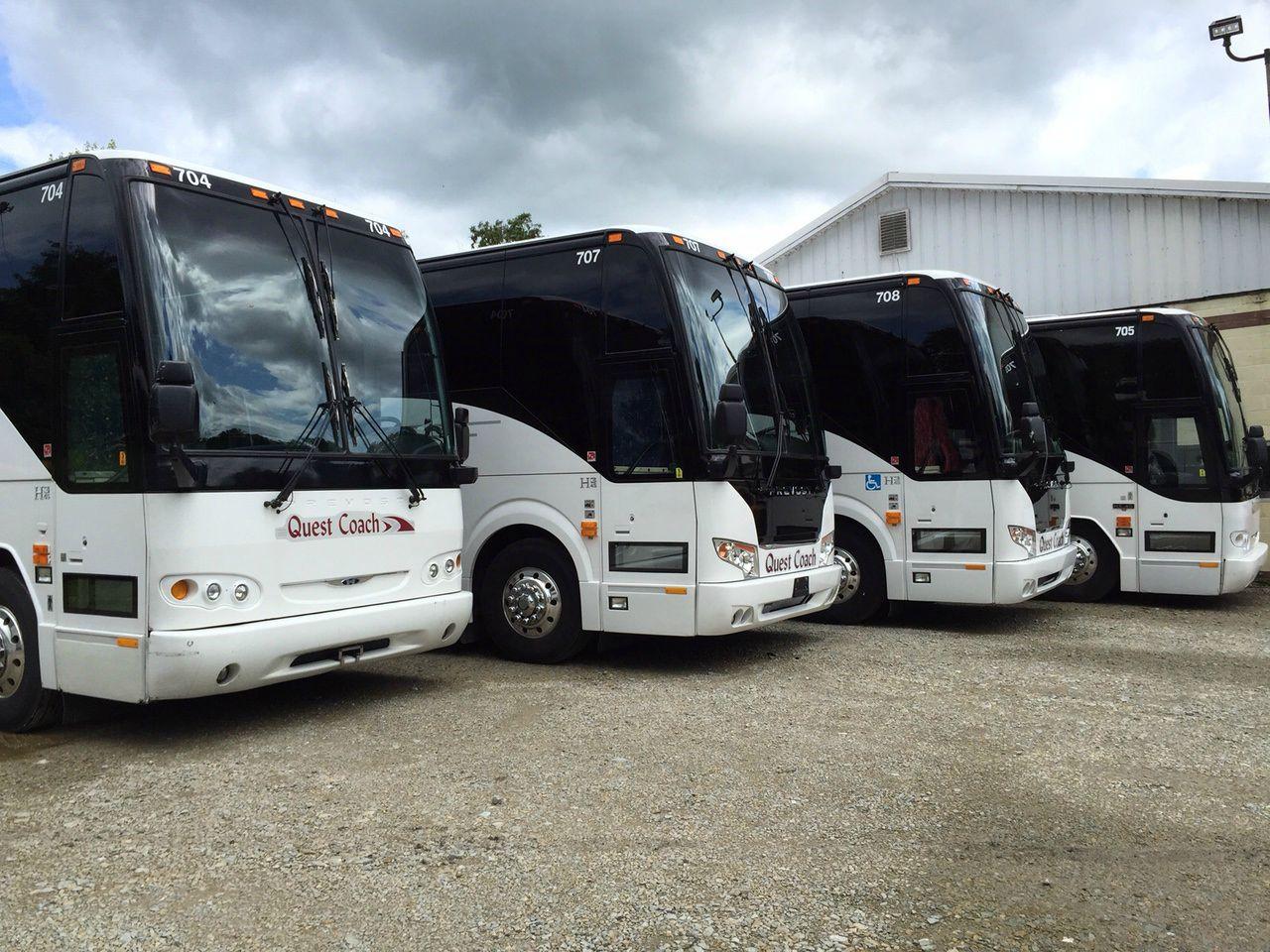 Motorcoach Fleet Quest Coach